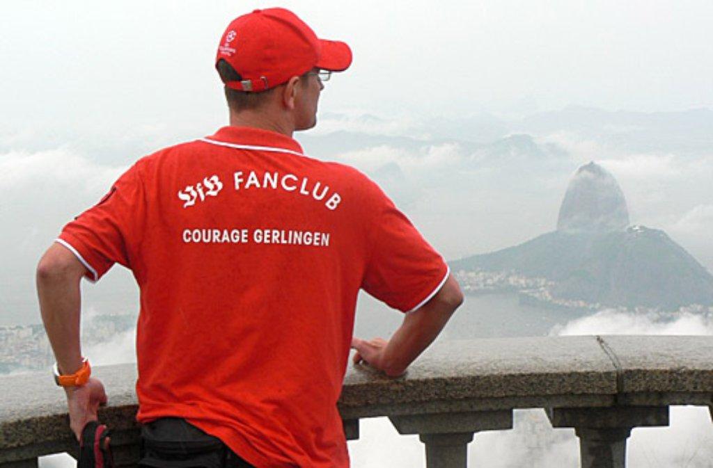 Die Mitglieder des VfB Fanclub Courage Gerlingen sind weltweit unterwegs. Klicken Sie sich durch unsere Bildergalerie des 2007 gegründeten Fanclubs: Foto: Fanclub Courage Gerlingen