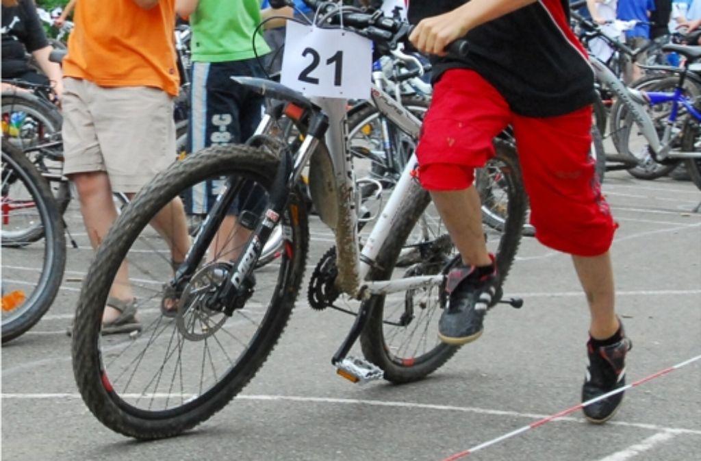 Der MSC-Stuttgart-Stammheim veranstaltet  am Mittwoch, 31. Juli, von  14 Uhr   an ein  Fahrrad-Turnier auf dem Kirchplatz in Stammheim. Foto: Günter Bergmann