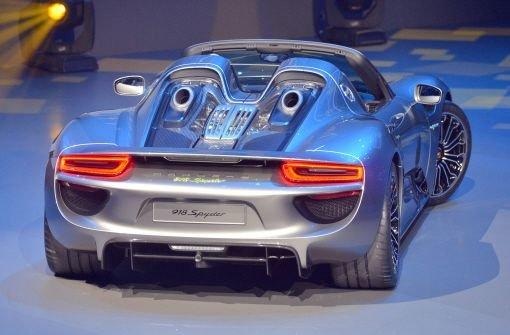 Porsche 918 Spyder muss in die Werkstatt