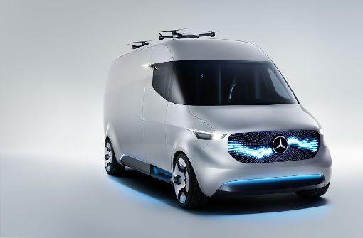 Mercedes-Benz  und Hermes testen emissionsfreie Zustellung