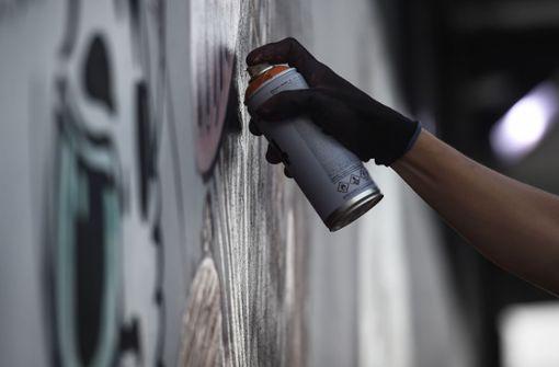 17-Jährige beschmiert Hauswände mit Graffitis – Festnahme