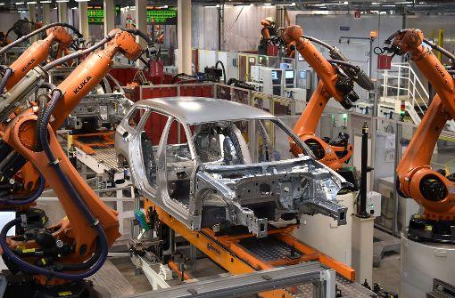 Roboter weltweit auf dem Vormarsch