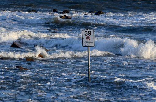 "Tief ""Zeetje"" bringt erste Sturmflut des Jahres"