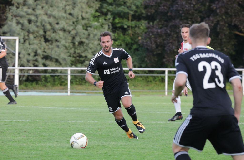 Mario Marinic  trifft zum Oberliga-Auftakt    für die TSG Foto: