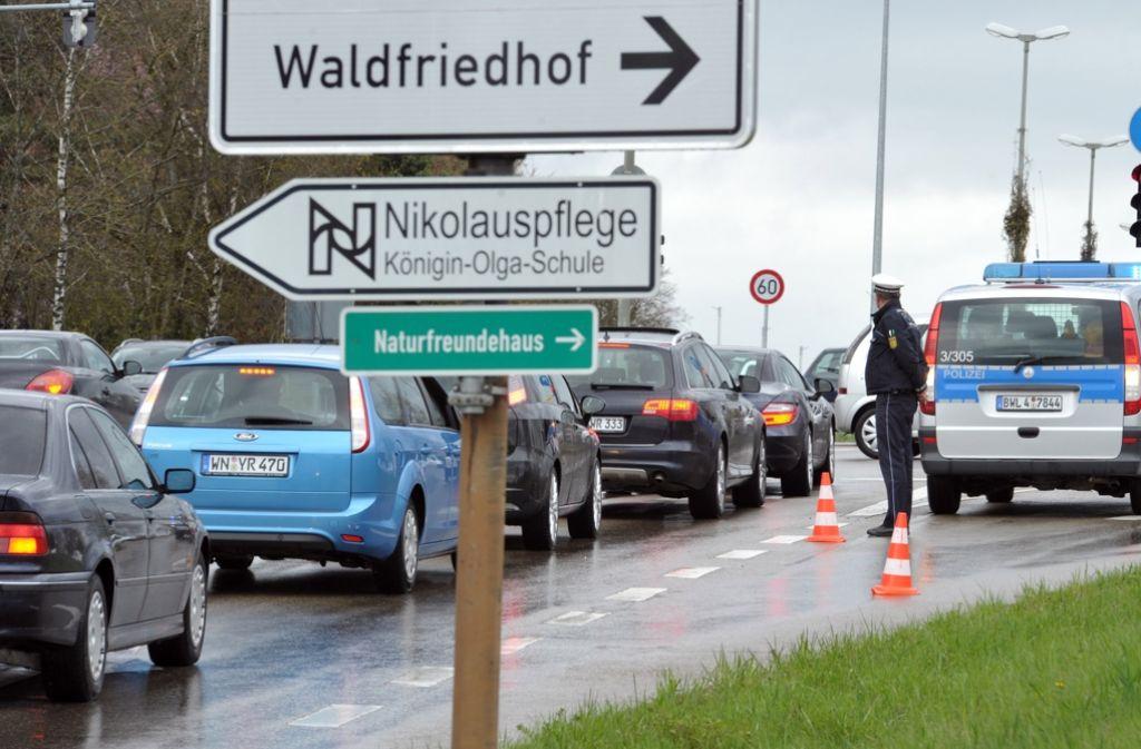 Die Beerdigung eines Rockers der United Tribuns versetzt Heidenheim ins Chaos. Foto: dpa