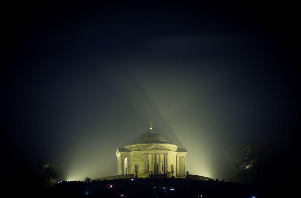 Die Grabkapelle in Stuttgart ist ein besonderer Ort und Königin Katharina gewidmet. Foto: Lichtgut/Achim Zweygarth