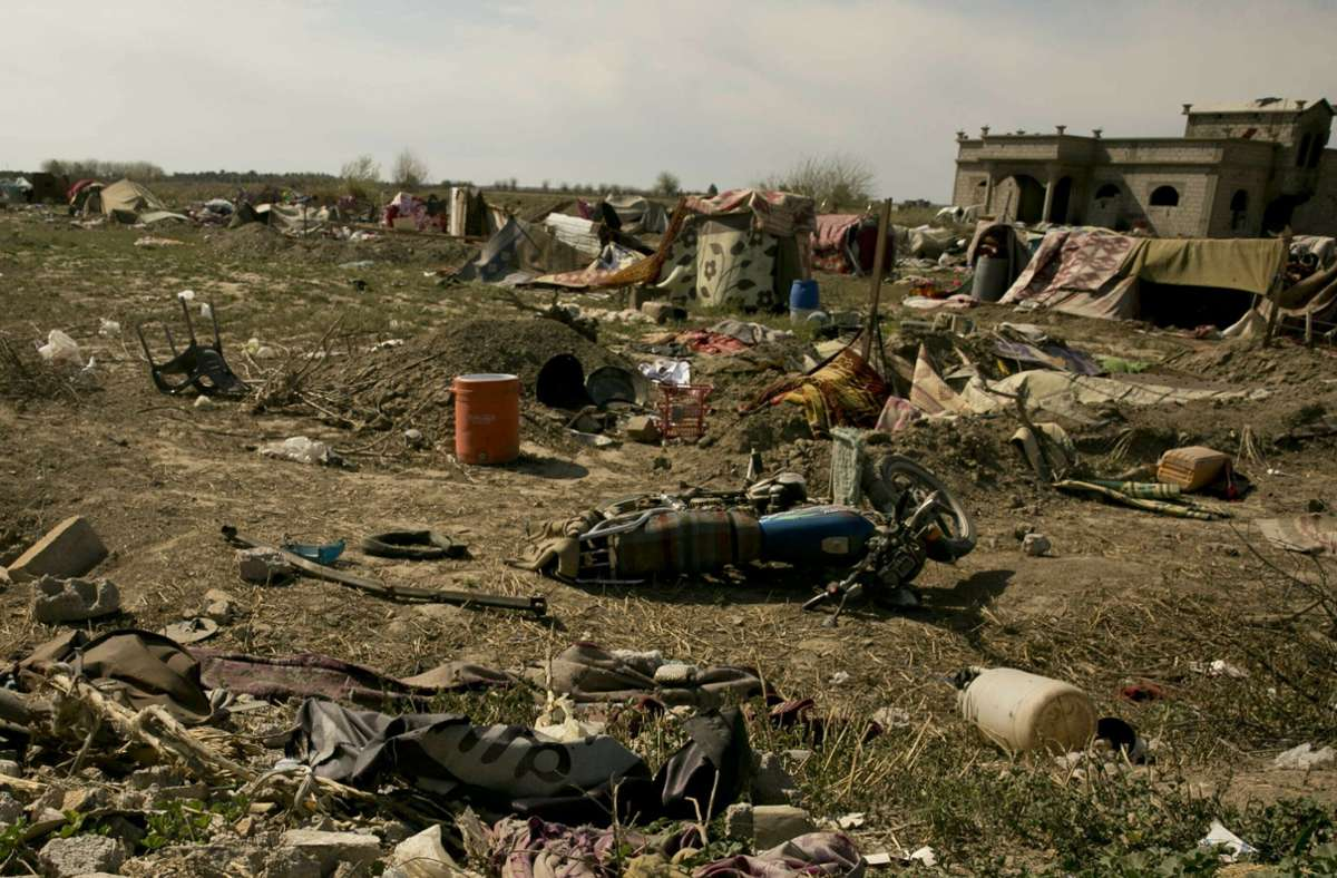 Der Islamische Staat gilt in Syrien und im Irak als besiegt. (Archivbild) Foto: dpa/Maya Alleruzzo