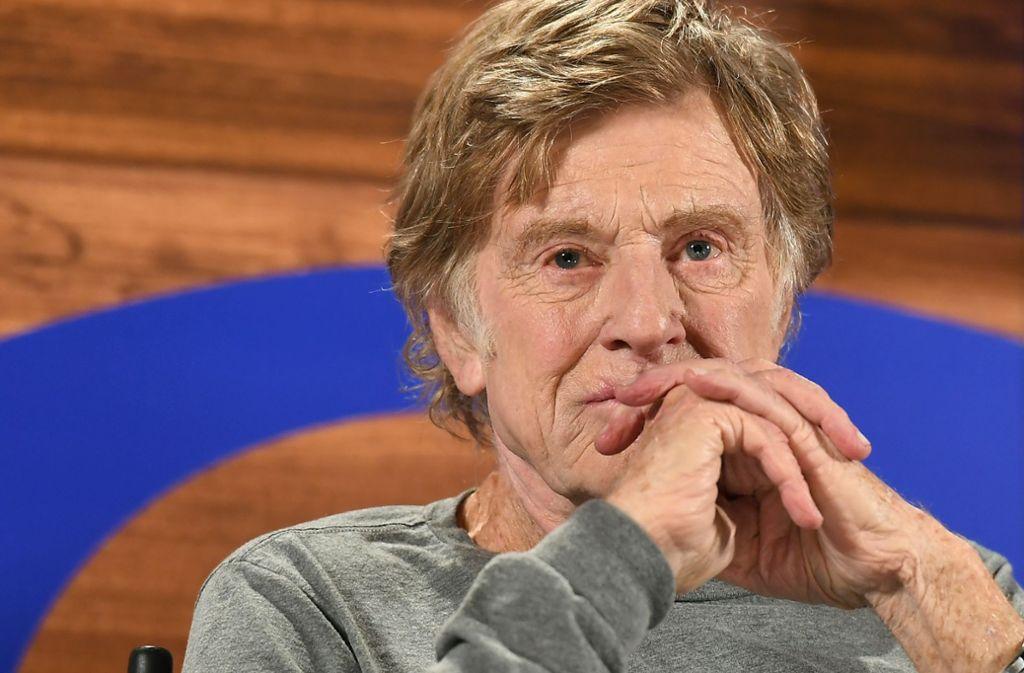 Robert Redford will es künftig ruhiger angehen lassen. Foto: AFP