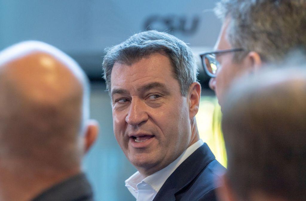 Nach der Tat in Halle warnt Markus Söder davor, die Gamerszene unter Generalverdacht zu stellen. . Foto: dpa/Hendrik Schmidt
