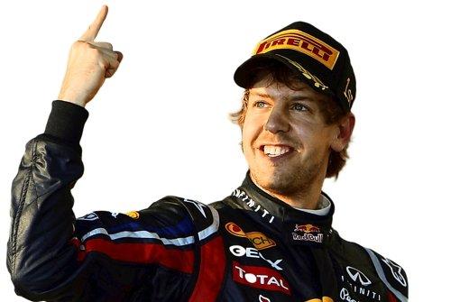 Sebastian Vettel geht gelassen in das letzte Formel-1-Rennen der Saison. Foto: AP