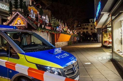 Polizei nimmt 53-Jährigen auf Weihnachtsmarkt fest
