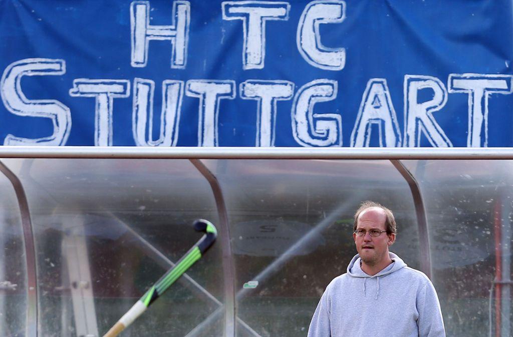 Mit Trainer Thorben Wegener geht es beim HTc Stuttgarter Kickers wieder aufwärts. Foto: Baumann