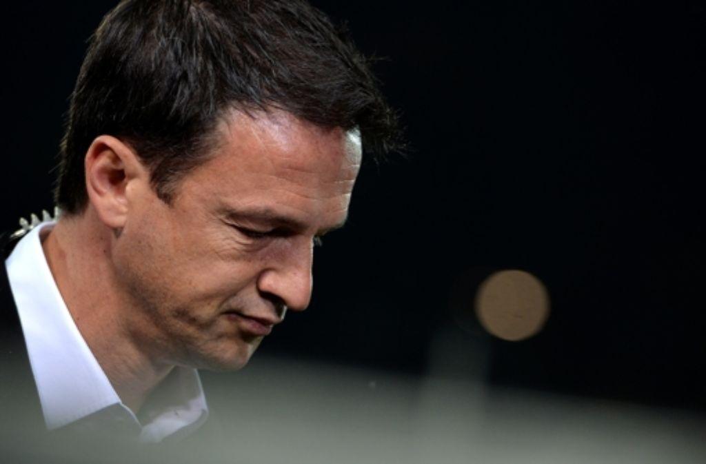 Kann Fredi Bobic  den VfB Stuttgart aus der Krise führen? Den aktuellen Kader des VfB Stuttgart sehen Sie in unserer Bildergalerie. Foto: Bongarts
