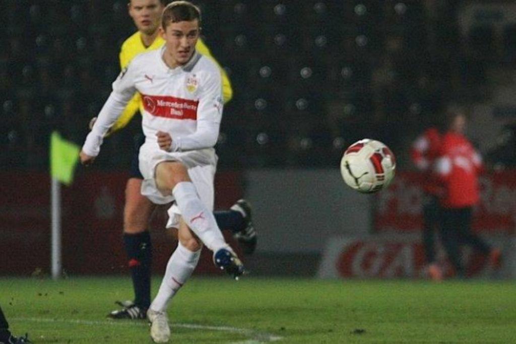 Gratas Sirgedas wird beim VfB Stuttgart II nun stärker eingebunden. Foto: Lommel/VfB-exklusiv.de