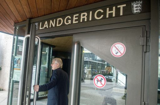 Anton Schlecker am Landgericht Stuttgart (Archivbild). Foto: dpa