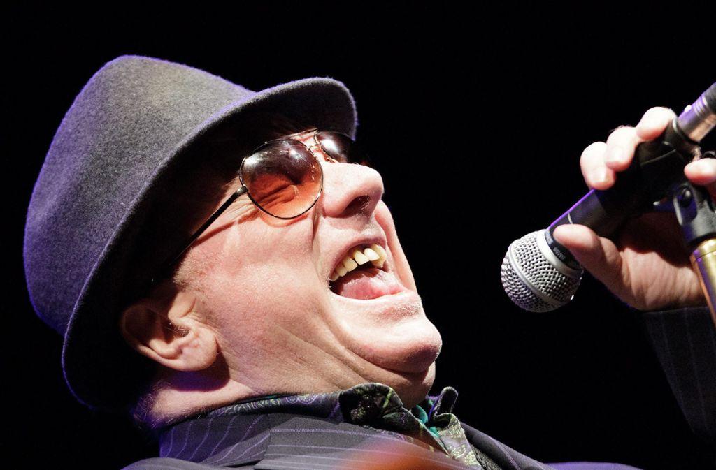 Van Morrison wird 2020 bei den Jazz Open in Stuttgart auftreten Foto: dpa/Georg Hochmuth