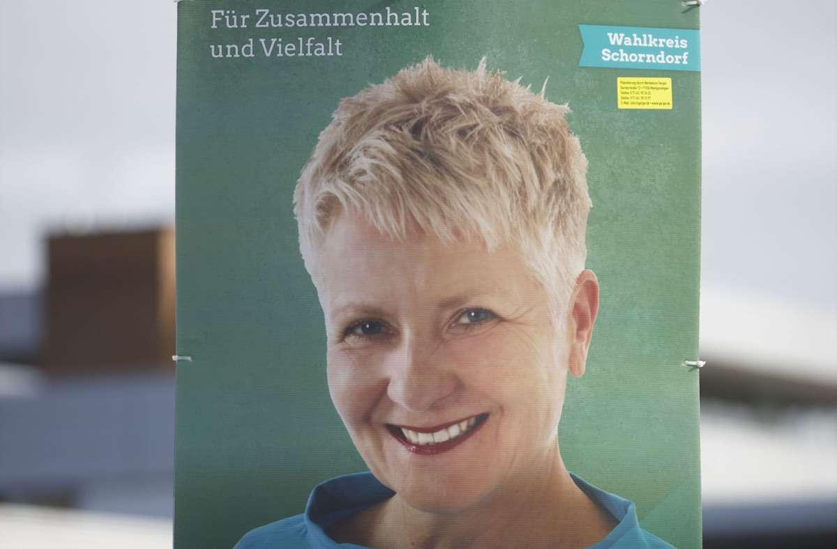 Mit 29,7 Prozent der Wählerstimmen hat Petra Häffner ihr  Direktmandat verteidigt. Foto: Gottfried Stoppel