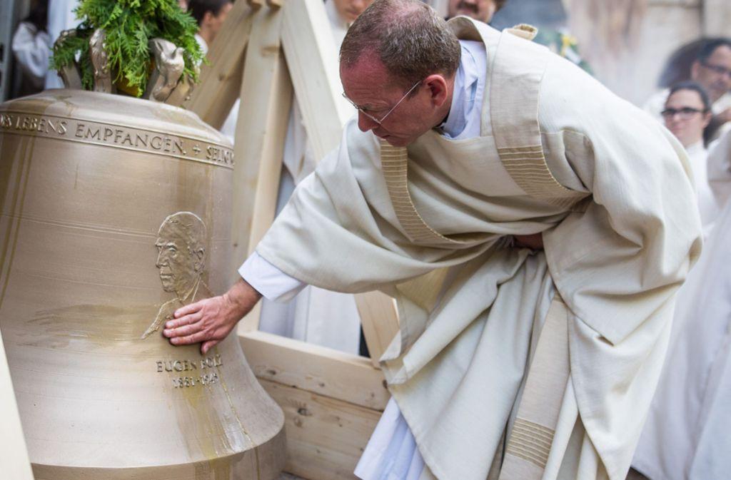 Die neuen Glocken für die Domkirche sind geweiht. Anfang Oktober werden sie zu hören sein. Foto: Lichtgut/Christoph Schmidt