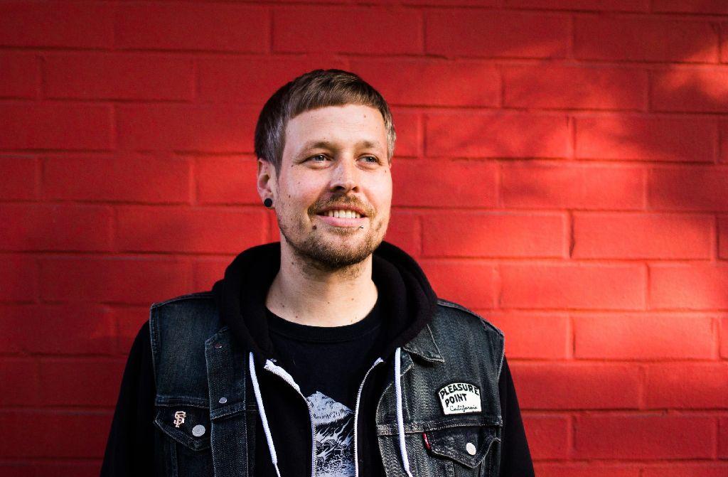 Florian Eymer kümmert sich um die Konzerte im Stuttgarter Juha West - wenn dort nicht, wie derzeit, umgebaut wird. Foto: privat