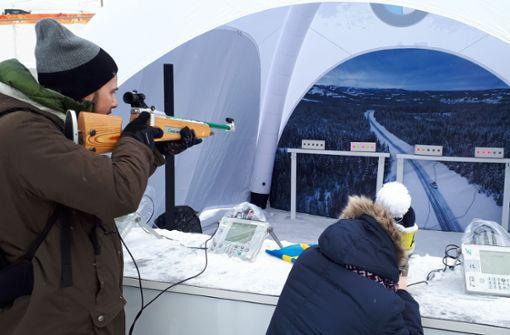 Mit Motorsägen zur Biathlon-WM