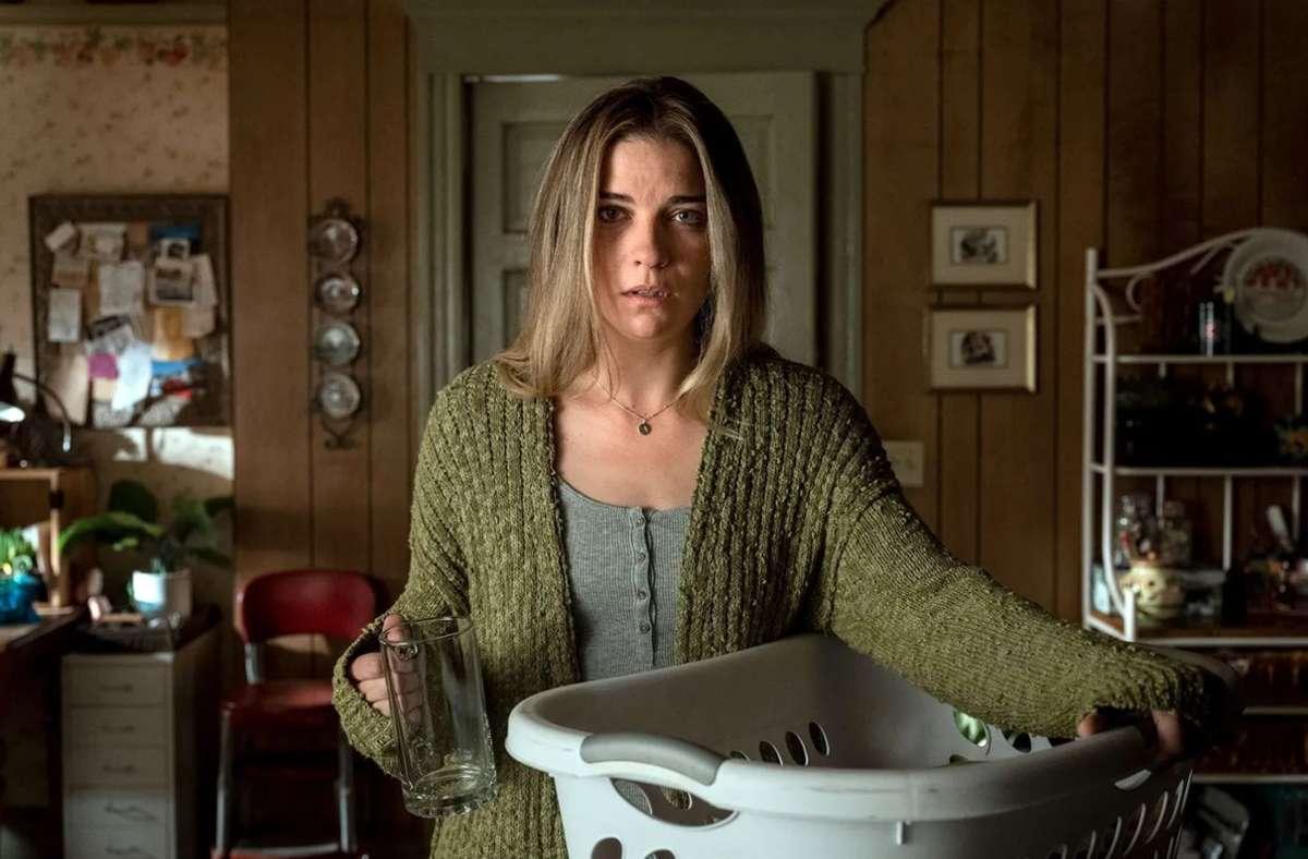 Wir müssen über Kevin reden! Allison (Annie Murphy) hat genug vom Leben als Witznummer. Foto: AMC Film Holdings LLC. /Jojo Whilden
