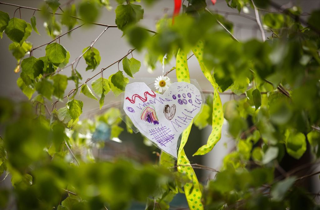 In Althütte sieht der Maibaum dieses Jahr etwas anders aus. Foto: Gottfried Stoppel