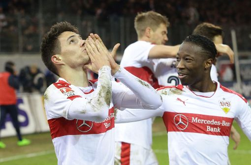 """Brekalo-Knaller zum VfB-Sieg"""