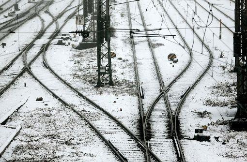 """""""Axel"""" sorgt für Chaos im Bahnverkehr"""