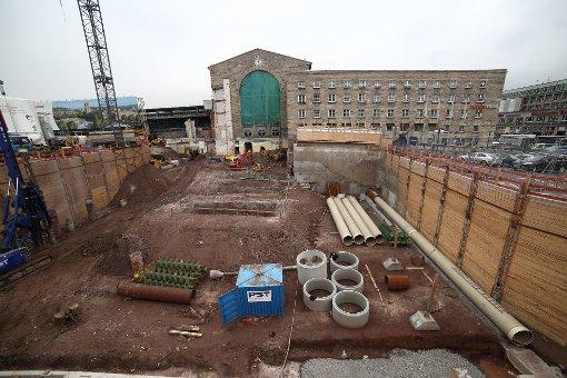 S21: Die Baustellen im Oktober