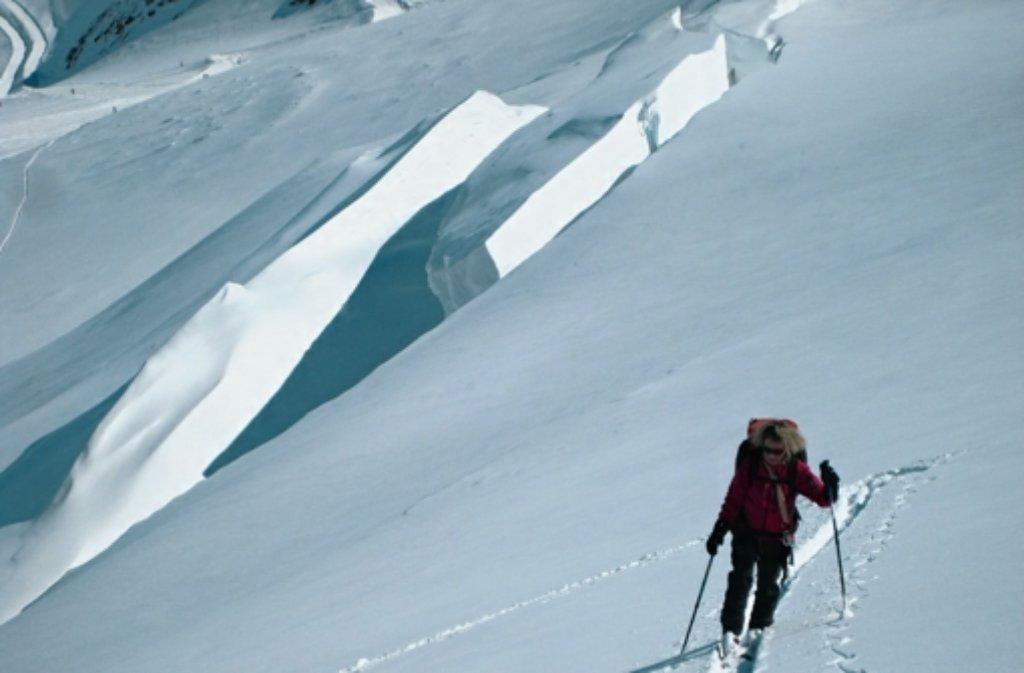 Bei den Bergsteigern des Leonberger Alpenvereins hat Leichtsinn nichts verloren. Foto: nh