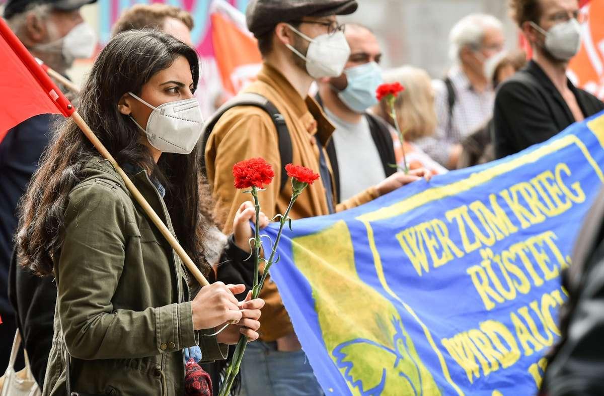 Der Tag der Befreiung findet jährlich am 8. Mai statt. Foto: Lichtgut - Ferdinando Iannone/Ferdinando Iannone