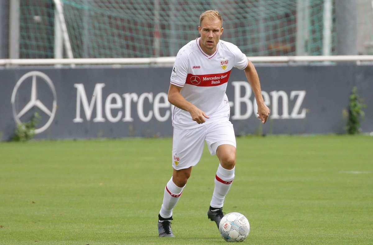45 Minuten lang für den VfB II am Ball: Holger Badstuber Foto: Baumann