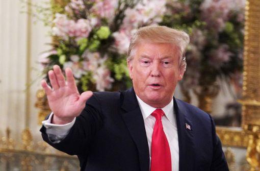 Frühere Schule Trumps versteckte seine Noten