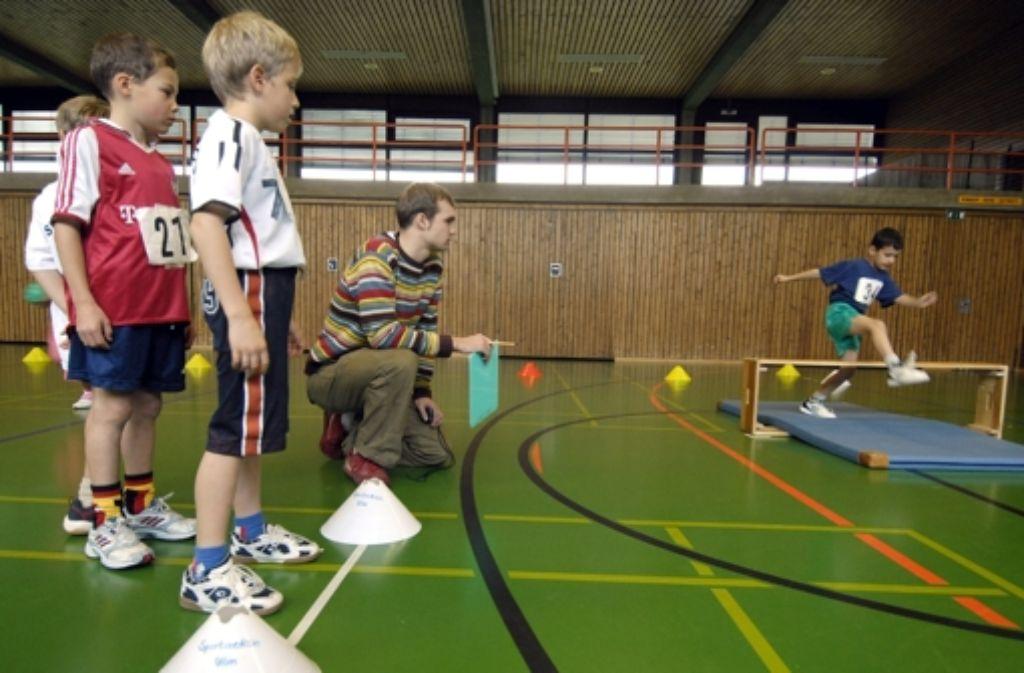 Übungsleiter von Sportvereinen Foto: dpa