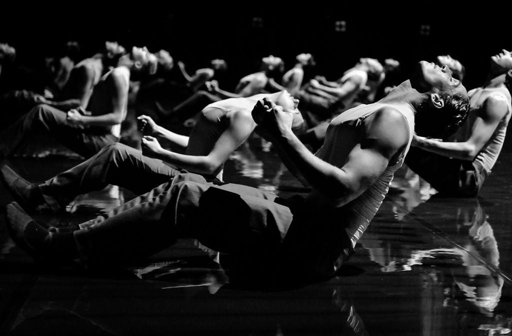 Der Tänzer Roman Novitzky beobachtet seine Kollegen mit der Kamera Foto: Roman Novitzky