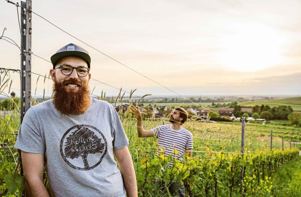 Michael Zimmer (links)  und Felix Scherer (rechts) Foto: Fionn Große