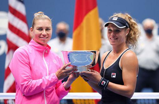 Laura Siegemund triumphiert im Damen-Doppel