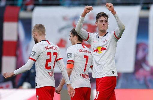 RB Leipzig verschärft Werder-Krise und zieht am FC Bayern vorbei
