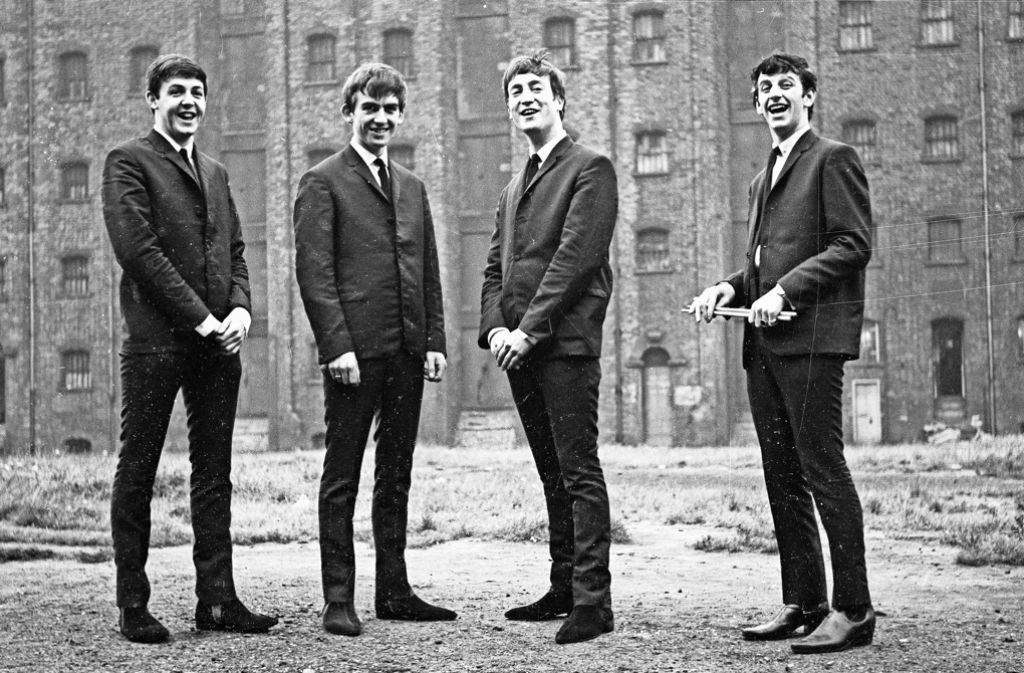 Paul McCartney, George Harrison, John Lennon und  Ringo Starr (v. li.) im Jahr 1962 Foto: Studiocanal