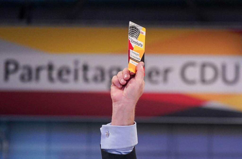 Die CDU beriet in Leipzig über wichtige Themen. Foto: dpa/Kay Nietfeld