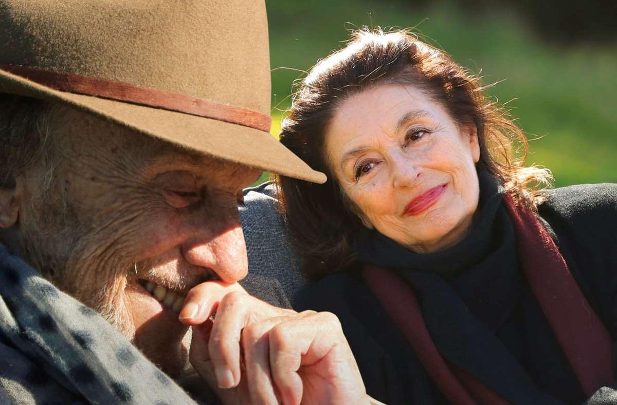 """Wiederbegegnung  52 Jahre später: Jean-Louis Trintignant und Anouk Aimée in """"Die schönsten Jahre eines Lebens"""" Foto: Wild Bunch"""