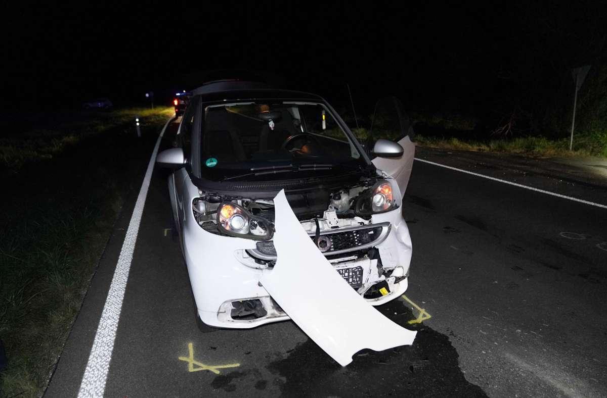 Am Mittwochabend gab es einen Verkehrsunfall mit hohem Blechschaden. Foto: /SDMG / Kohls