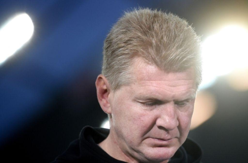 Stefan Effenberg ist nicht länger Trainer des SC Paderborn. Foto: dpa