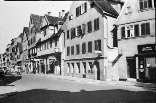 Früher Rote Straße, heute Theo Heuss