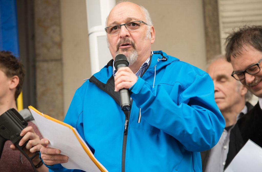 Der Friedensaktivist Jürgen Grässlin leistet seit 30 Jahren Widerstand gegen die deutsche Rüstungsindustrie. (Archivfoto) Foto: dpa