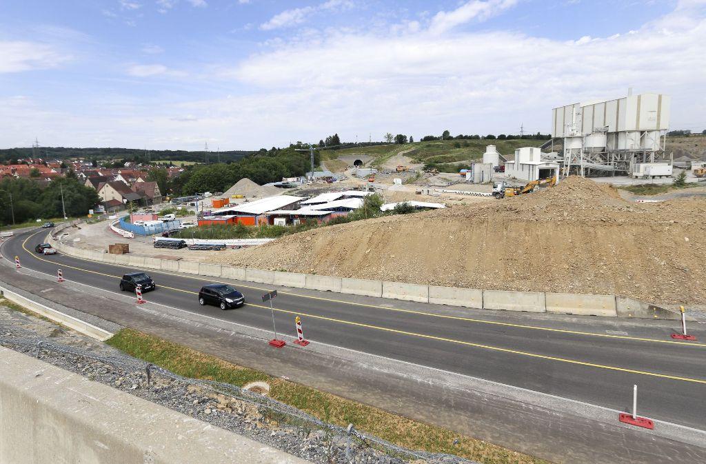 An der Nordumfahrung von Darmsheim wird gebaut. Foto: Archiv/factum/Granville