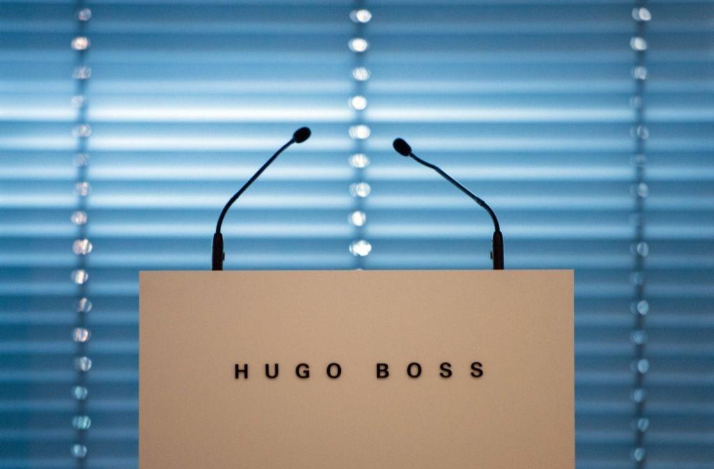 Erneut verlässt ein Vorstand den Metzinger Modekonzern Hugo Boss – Christoph Auhagen scheide einvernehmlich aus dem Unternehmen aus, hieß es in einer Mitteilung. Foto: dpa