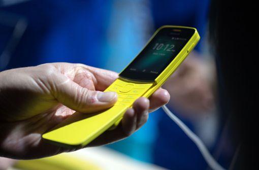 Retro-Handy feiert knallgelbes Comeback
