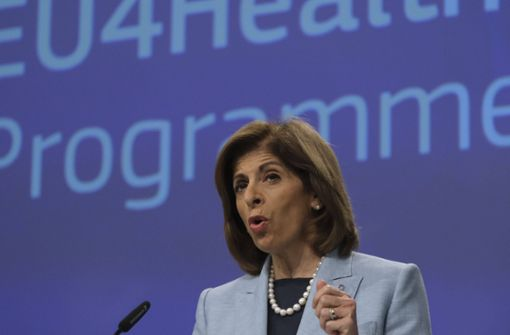 EU-Gesundheitskommissarin rechnet schon 2020 mit Impstoff