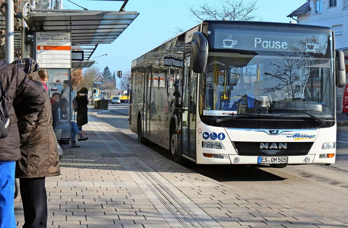 Nicht alle Busse haben offenbar  eine elektronische Anzeige wie hier. Foto: Judith A. Sägesser
